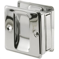 Prime Line N 7085 - Pocket Door Passage Pull, Chrome Plated
