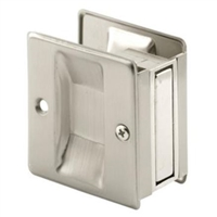 Prime Line N 7238 - Pocket Door Passage Pull, Satin Nickel