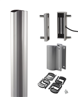 Locinox N-Line-Mag-Kit-2500-Zilv, Set With N -Line Mag Profile, 2 X Magmag2500  In Silver (2 Year Warranty)