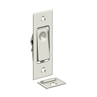 Deltana Pdb42U14 - Pocket Door Bolts, Jamb Bolt - Polished Nickel Finish