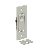 Deltana B42U15 - Pocket Door Bolts, Jamb Bolt - Brushed Nickel Finish