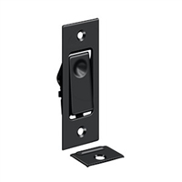 Deltana Pdb42U19 - Pocket Door Bolts, Jamb Bolt - Paint Black Finish