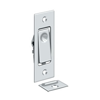 Deltana Pdb42U26 - Pocket Door Bolts, Jamb Bolt - Polished Chrome Finish