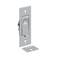 Deltana Pdb42U26D - Pocket Door Bolts, Jamb Bolt - Brushed Chrome Finish