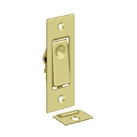 Deltana Pdb42U3 - Pocket Door Bolts, Jamb Bolt - Polished Brass Finish