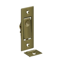 Deltana Pdb42U5 - Pocket Door Bolts, Jamb Bolt - Antique Brass Finish