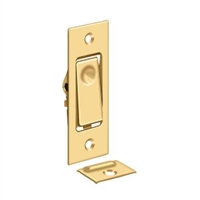 Deltana Pdb42Ucr003 - Pocket Door Bolts, Jamb Bolt - Pvd Polished Brass Finish