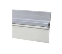 "Pemko 3452Av36, Door Bottom Sweep With Rain Drip, Mill Finish Aluminum, Vinyl Insert, 36"" Long"