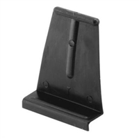 Prime Line Pl 14621 - Spline Channel Pull Tabs Black 25Ea
