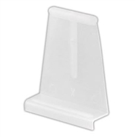 Prime Line Pl 7756 - Spline Channel Lift Tab, White Plastic, 6/Pkg