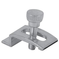 "Prime Line Pl 7939 - Storm Door Panel Clips, 1/4"", W/Screws, Mill, 8/Pkg"