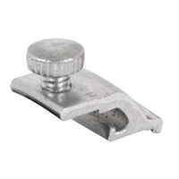 "Prime Line Pl 7953 - Storm Door Panel Clips, 1/4"", Self Locking, W/Thumbscrews"