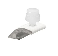 Prime Line Pl 7956 - Storm Door Panel Clips, W/Screws, White, 8/Pkg