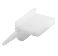 Prime Line Pl 7964 - Self-Locking Strm Dr Clip Nylon Wht 8/Pkg
