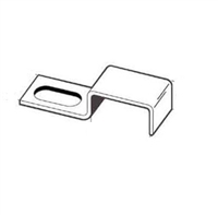 Prime Line Pl 7970 - Screen Stretcher Clip, W/Screws, Aluminum, 12/Pkg