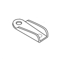 Prime Line Pl 8009 - Wing Clips, W/Screws, Aluminum, 12/Pkg