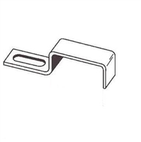 Prime Line Pl 8028 - Screen Stretcher Clip, W/Screws, Aluminum, 12/Pkg