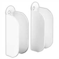 "Prime Line Pl 8106 - 3/8"" Window Screen Top Hangers White 6/Pkg"