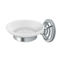 Deltana R2012-U26 - Soap Dish, R-Series - Polished Chrome Finish