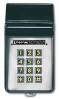 Linear Akr - 1 Exterior Keypad With Radio