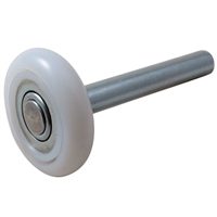 "Fehr Bros Roll23-Ssl - 2 Nylon Truck Door Roller With Stainless Steel Bearing & 5"" Stem"