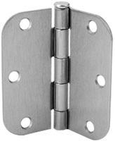 "Don Jo Rpb73535-58-632, 3 1/2"" X 3 1/2"" X 5/8"" Radius, 632 Finish"