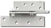 "Cal-Royal Rph45-Us26D Full Surface Reinforcing Pivot Hinge For 4 1/2"" Wide Hinges, Us26D In Satin Chromium Plated, (Lifetime Warranty)"