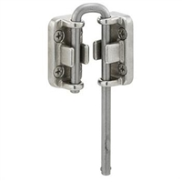 "Prime Line S 4380 - Sliding Door Loop Lock, 13/16"", Stainless"