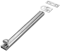 "Don Jo Sb-12-605, 12"" Slide Bolt, 605 Finish"