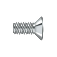 "Deltana Scmb1205U26 - Machine Screw, Sb, #12 X 1/2"" - Polished Chrome Finish"