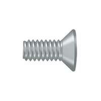 "Deltana Scmb1205U26D - Machine Screw, Sb, #12 X 1/2"" - Brushed Chrome Finish"