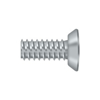 "Deltana Scms1005U26D - Machine Screw, Steel, #10 X 1/2"" - Brushed Chrome Finish"