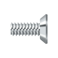 "Deltana Scms1205U26 - Machine Screw, Steel, #12 X 1/2"" - Polished Chrome Finish"