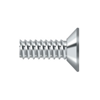 "Deltana Scms905U26 - Machine Screw, Steel, #9 X 1/2"" - Polished Chrome Finish"