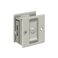 "Deltana Sdl25U15 - Pocket Lock, 2 1/2""X 2 3/4"" Privacy - Brushed Nickel Finish"