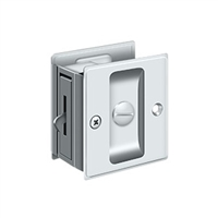 "Deltana Sdl25U26 - Pocket Lock, 2 1/2""X 2 3/4"" Privacy - Polished Chrome Finish"