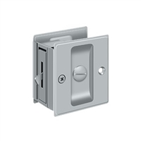 "Deltana Sdl25U26D - Pocket Lock, 2 1/2""X 2 3/4"" Privacy - Brushed Chrome Finish"