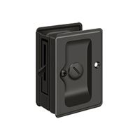 "Deltana SDLA325U10B - Hd Pocket Lock, Adjustable, 3 1/4""X 2 1/4"" Privacy - Oil-rubbed Bronze Finish"
