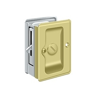 "Deltana SDLA325U3-26 - Hd Pocket Lock, Adjustable, 3 1/4""X 2 1/4"" Privacy"