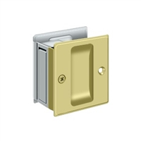 "Deltana SDP25U26 - Pocket Lock, 2 1/2""X 2 3/4"" Passage - Polished Chrome Finish"