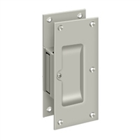 "Deltana SDP60U15 - Decorative Pocket Lock 6"", Passage - Brushed Nickel Finish"
