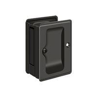 "Deltana SDPA325U10B - Hd Pocket Lock, Adjustable, 3 1/4""X 2 1/4"" Passage - Oil-rubbed Bronze Finish"