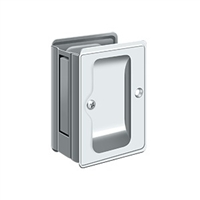 "Deltana SDPA325U26 - Hd Pocket Lock, Adjustable, 3 1/4""X 2 1/4"" Passage - Polished Chrome Finish"