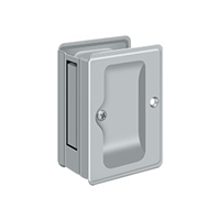 "Deltana SDPA325U26D - Hd Pocket Lock, Adjustable, 3 1/4""X 2 1/4"" Passage - Brushed Chrome Finish"