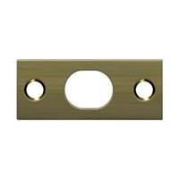 Detlana SP12EFB5 - Strike Plate For Extension Flush Bolt - Antique Brass Finish
