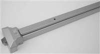 "S. Parker Hardware Sul520Al, Aluminum Finish Adjustable For Doors 25""-36"" Wide With Sexbolts"