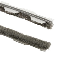 "Prime Line T 8659 - Weatherstrip, 1/4"" Wool Pile, 18 Ft, Gray"