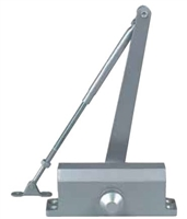 Global Door Controls Tc302: Grade 3 Light Duty Door Closer - Size 2 (10 Year Warranty)