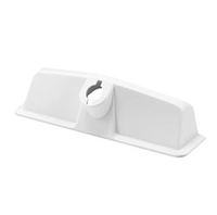 Prime Line Th 21937 - Entrygard Operator Cover, Snap-On, White Abs