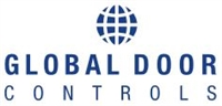 "Global Door Controls Th1100-Dblstal-Al, Exit Device Trim Knobs / Pulls, Double Door Strike"", Aluminum"